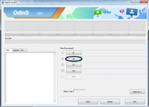 Mencari firmware